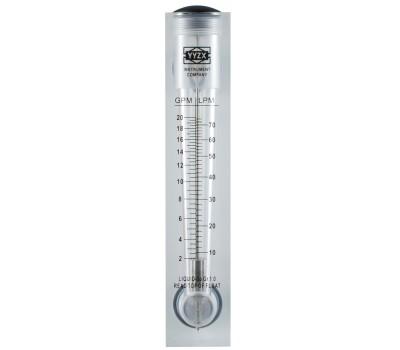 Ротаметр панельный FM 20 (измеритель потока воды)