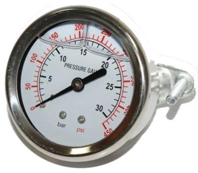 Манометр жидконаполненный PG-400