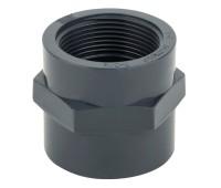Муфта переходная клеевое соединение /внутренняя резьба ПВХ Aquaviva 50mm