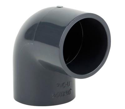 Отвод ПВХ 63mm/ 90° Aquaviva