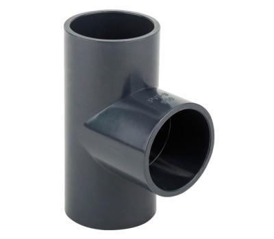 Тройник ПВХ 32mm/90° Aquaviva